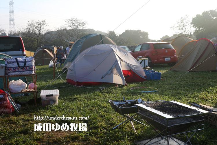 成田ゆめ牧場でのハバハバNX