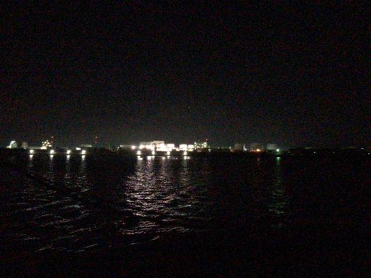 鹿島港夜景